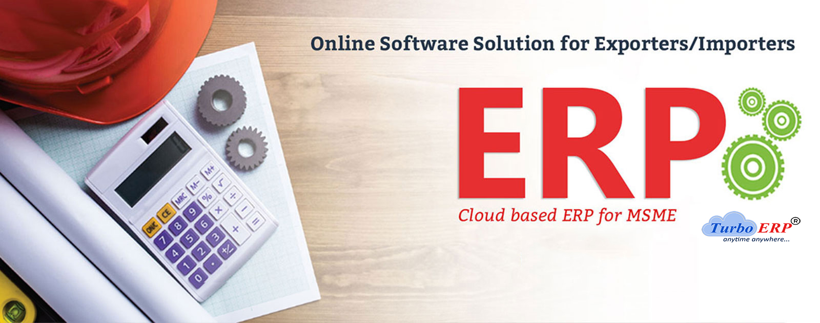 Cloud ERP for Export Business